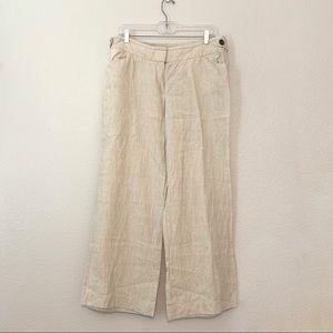 J Crew Irish Linen Pants